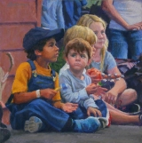"<h5>Pastel Painters of Maine Award </h5><p>Clayton Buchanan: ""Almost Friends""</p>"