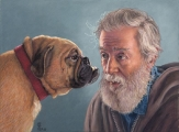 <h5>Mount Vision Pastels Award</h5><p>Albert La Chienne, by Claudia Post</p>