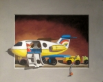 <h5>Canson MiTientes Paper Products/Pastels Award</h5><p>Now Boarding, by David Francis </p>