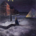 <h5>Art Board Merchandise Award</h5><p>Winter Midnight at the Louvre, by Dick McEvoy</p>