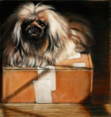 <h5>Maryland Pastel Society Award</h5><p>She Sits on Boxes, by Margaret Williams-McGowan</p>