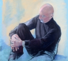 <h5>Terry Ludwig Pastels Award</h5><p>Gerard, by Jeanette Dick</p>