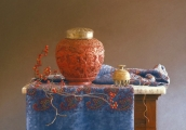 <h5>Pastel Painters Society of Cape Cod Award </h5><p>Barbara S. Groff: Thread to the Past</p>