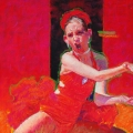 <h5>Hunter Editions Award of Excellence </h5><p>Bill James: Dancer in Red</p>