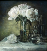 <h5>Joseph F. DeSomma Award</h5><p>Anne McGrory: Peonies and Glass II</p>