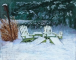 <h5>Allied Artists of America Award </h5><p>Jane Penfield: Waiting for Spring</p>