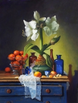<h5>Catharine Lorillard Wolfe Art Club Award</h5><p>Claudia Seymour: Amaryllis and Old Lace</p>