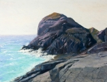 <h5>Pastel Society of West Coast Award</h5><p>Ralph R. Schwartz: Gull Rock After the Storm</p>