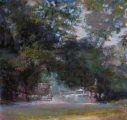 <h5>Great American Pastels Award</h5><p>Kathleen Newman: <br /> Early Morning Run</p>