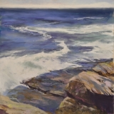 <h5>Madison Art Society Award</h5><p>Cindy Crimmin: <br /> On She Rolls</p>