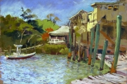 <h5>Pastel Painters of Maine Award </h5><p>Inak Gieysztor: Placida's Pier</p>