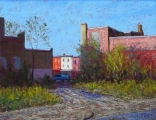 <h5>Pastel Painters Society of Cape Cod Award</h5><p>Bob Richey: Alleyway</p>