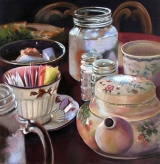 <h5>Pastel Society of West Coast Award</h5><p>Loretta Feeback: More Tea and Sugar?</p>