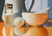<h5>Salmagundi Club Award</h5><p>Lucy Petrie: White on White II</p>