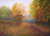 <h5>Pastel Society of America Award</h5><p>Kathleen McDonnell: Autumn Journey #4</p>