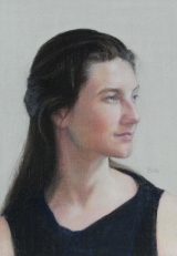<h5>Terry Ludwig Pastels Award</h5><p>Laura Bleau: Emily in Black </p>