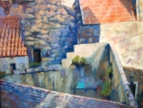 <h5>Salmagundi Club Award</h5><p>Frank Federico: Montfrin Rooftops </p>